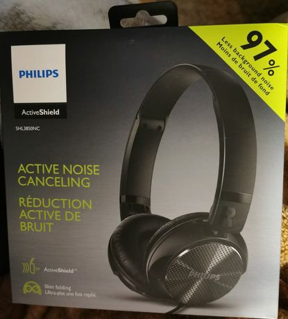 Słuchawki z funkcją redukcji szumów Philips SHL3850NC