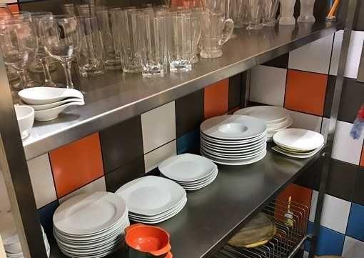 Стеллаж, шкаф, полка, сушка для посуды. Изделия из нержавейки