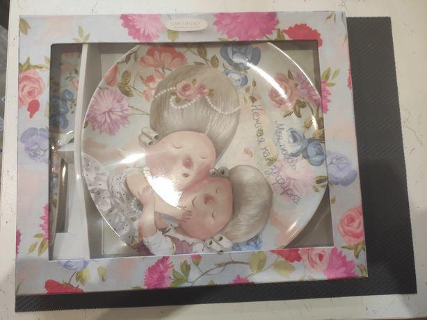 Посуда, тарелка новая