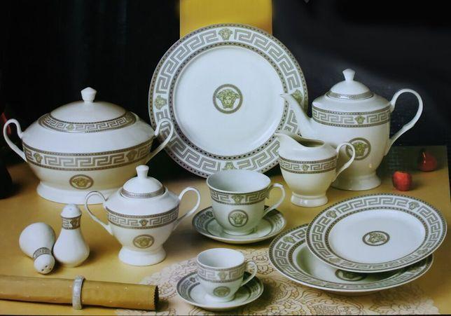 """Сервиз столовый Da Vinci """"Nero Gold"""", Германия, 57 пр."""