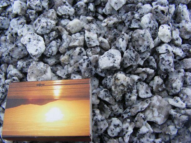 Kamień ozdobny liagran sól i pieprz 8-16mm,16-22mm