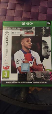 FIFA 21 Xbox one series x