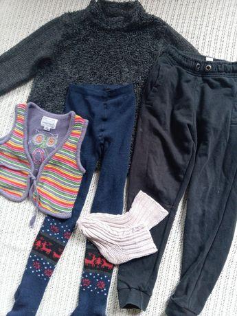 Пакет теплой одежды для девочки 6 лет