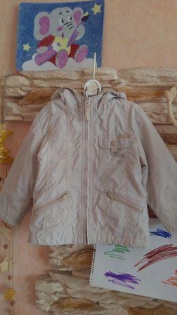 Утеплённая ветровка, осенняя курточка, весенняя куртка Enjoy 2-3 года