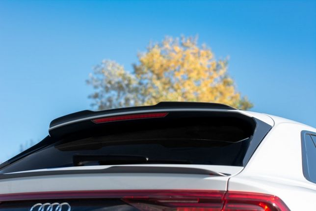 Накладка на спойлер, спойлер Audi Q8 S-line