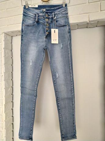 Spodnie dżinsowe rozm:38,Nowe