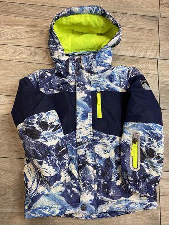 Куртка зимняя / лыжная на мальчика 110-116