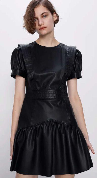 Трендовая кожаная одежда для девушек, Zara, Bershka, размеры XS-XL Днепр - изображение 1