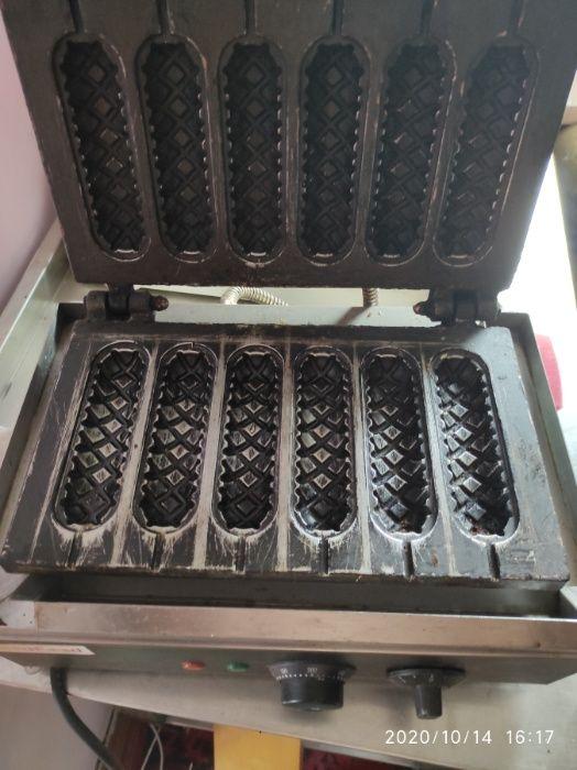 Вафельница для приготовления КОРН-ДОГОВ (сосиска в тесте) Черновцы - изображение 1