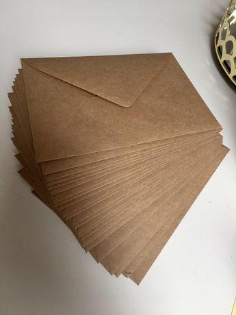 Koperty ECO brązowe rozmiar B6