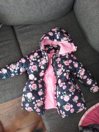 Kurtka dziewczynka 3-4l jesień/zima