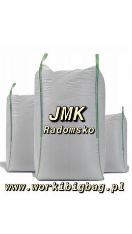 Worki Big Bag Bagi NOWE 95x95x180 Fartuch/Lej Importer BigBag BigBagi