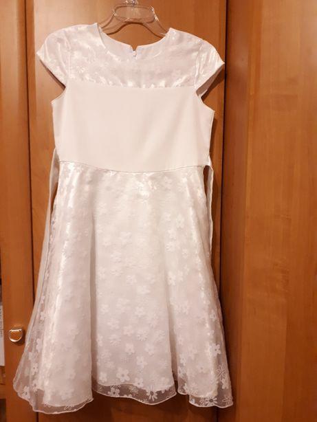 Sukienka biała 152