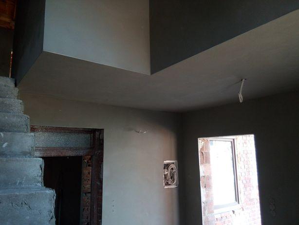 Tynkowanie tynki maszynowe cementowo wapienne, gliniane, gipsowe