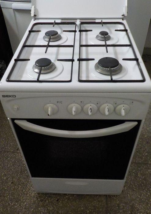 Kuchnia gazowa Beko, szer.50cm, używana Pyskowice - image 1