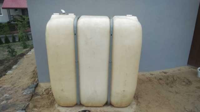 Zbiornik baniak na wodę 1600 l