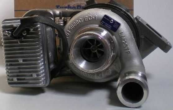 Nowa turbosprężarka  BORGWARNER JCB