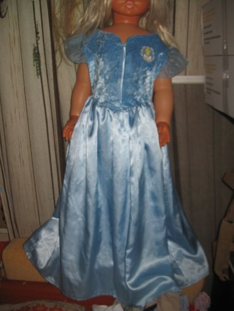 """Платье """"Спящая красавица""""DISNEY 7-8лет. рост=128см"""