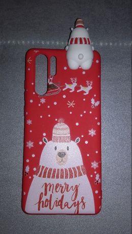 Nowe Etui na telefon Huawei P30 Pro Wesołych Świąt Boże Narodzenie