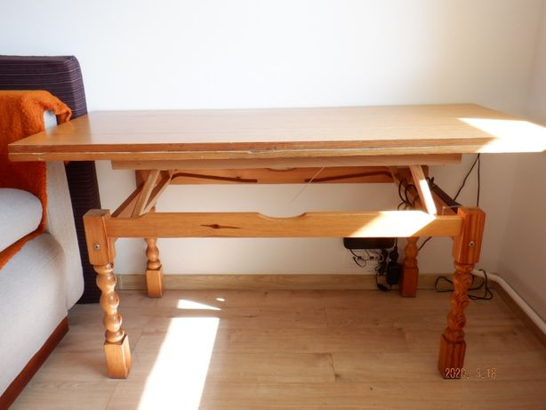 stół lawa drewniana