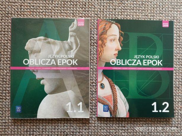 Oblicza epok 1 - część 1 i 2 - język polski