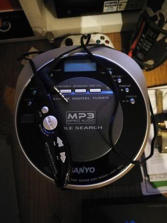 Sanyo Oryginalny Japoński Odtwarzacz CD MP3
