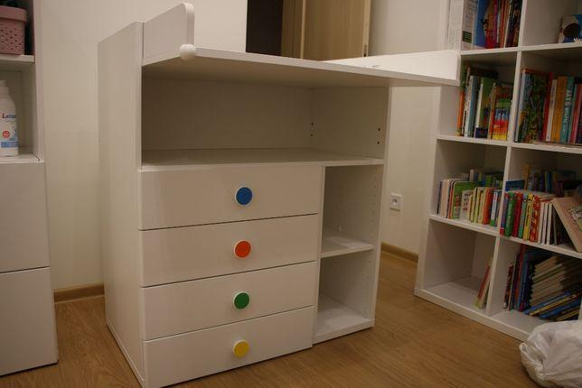 Stół do przewijania dla niemowlaka Ikea SMÅSTAD