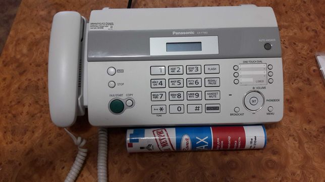 Факс и телефон Panasonic kx-ft982