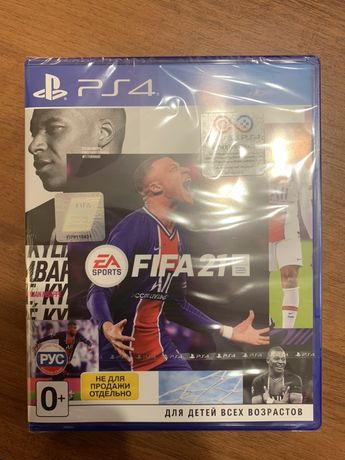 Fifa 2021 PS4 новый диск Playstation 4