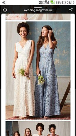 Фирменное свадебное платье h&m. 48-52