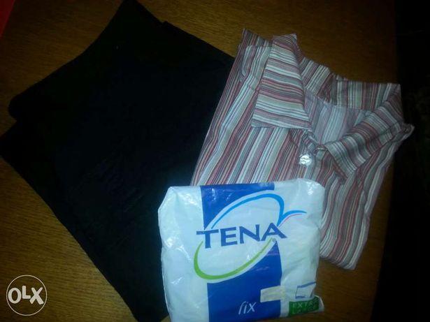 Rybaczki ciążowe spodnie H&M mama+bluzka+nowe majtki poporodowe tena
