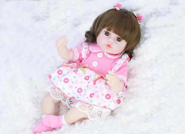 Реалистичная кукла Реборн рост 42см (детская игрушка)