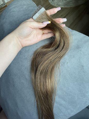 Włosy doczepiane tape on