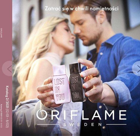 Kosmetyki Oriflame bez konieczności rejestracji z dostawą do domu