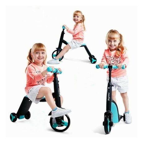 Детский самокат велосипед 3 в 1