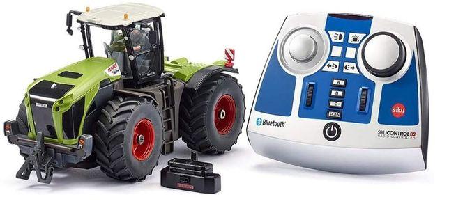 Metalowy sterowany traktor Siku 6794 Control 1:32 Bluetooth Claas OPIS