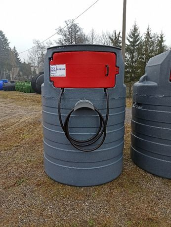 Zbiornik na paliwo rope olej napedowy 1500l dwupłaszczowy