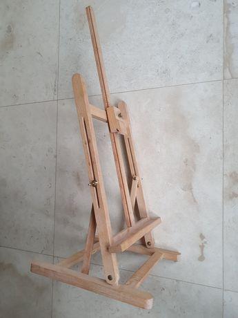 Sztaluga drewniana, stołowa ozdobna lub malarska