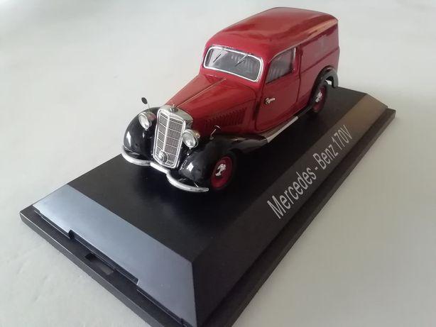 1/43 Mercedes 170 V 'Deutsche Reichspost' - 1937 (Miniatura - Schuco)