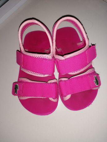 Sandały lacosta, buciki