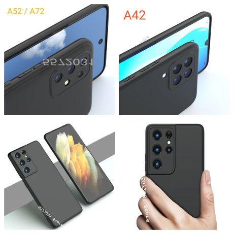 Capa Silicone Slim Samsung A42 / A52 / A72 / S21 Ultra -P. Mate Nv-24h