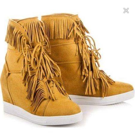 Sneakersy buty damskie boho 37-41 nowe