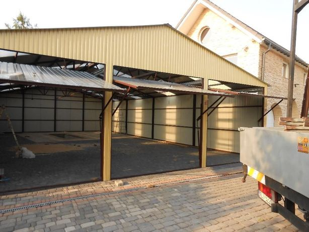 Wiata Wiaty Hala Hale Garaż Garaże Profil DAR MET