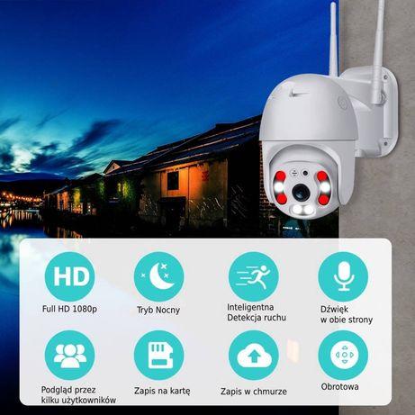 Obrotowa kamera zewnętrzna IP WIFI ZOOM 4X FULL HD