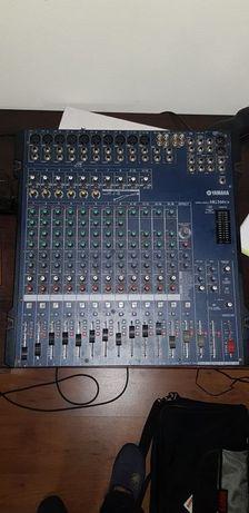 Mesas de som Yamaha/Alesis/Behringuer