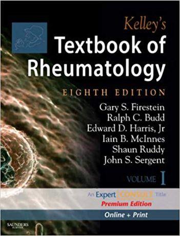 Kelley's Textbook of Rheumatology, Expert Edit, 2Vol Set novo embalado