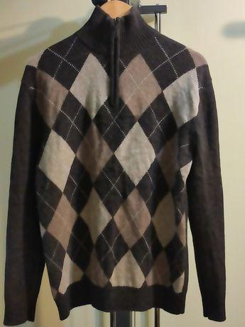 Мужской тёплый свитер. Размер L