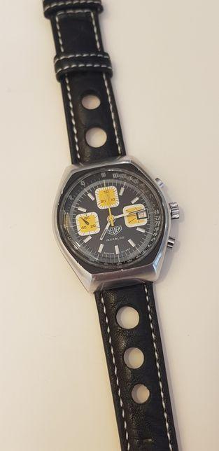 Relógio Heuer Chrono Incabloc 1970