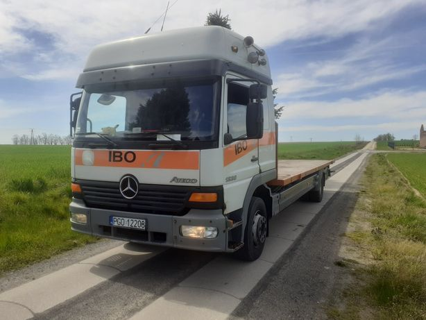 Mercedes Attego  1228 Platforma Niski