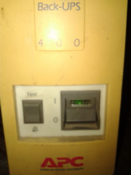 Бесперебойник UPS APC 400 робочий